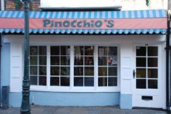 Pinocchios Italian restaurant
