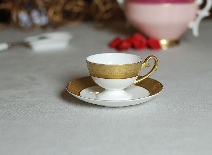 Ewa espresso Royal gold decoration Filiżanka Ewa espresso Królewska ze złotą dekoracją