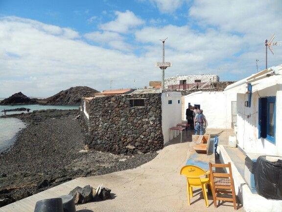 Restaurant on lobos island