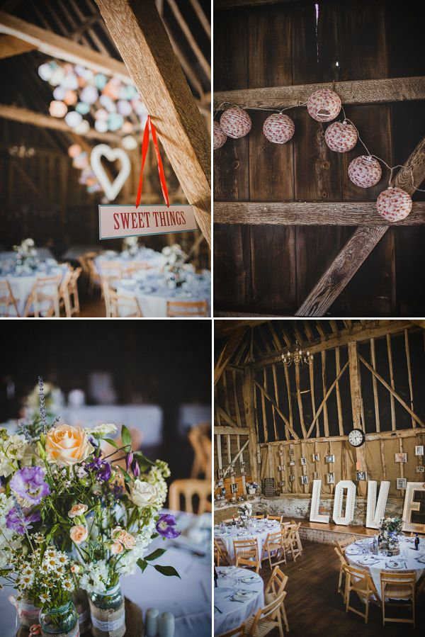 A Wildflower and Woodland Inspired Rustic, Rural Barn Wedding
