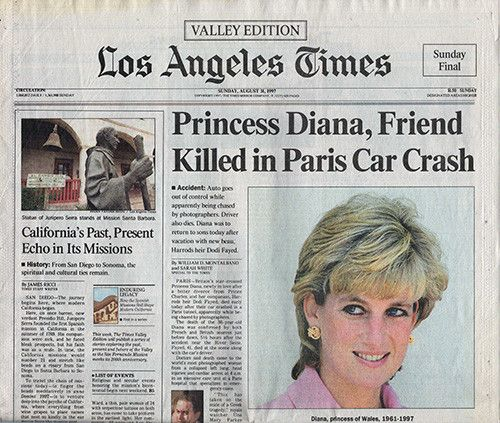 Los Angeles Times: 17 Best Images About Diana The Princess Of Wales, Queen Of