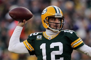 Aaron Rodgers...oh yay! My favorite