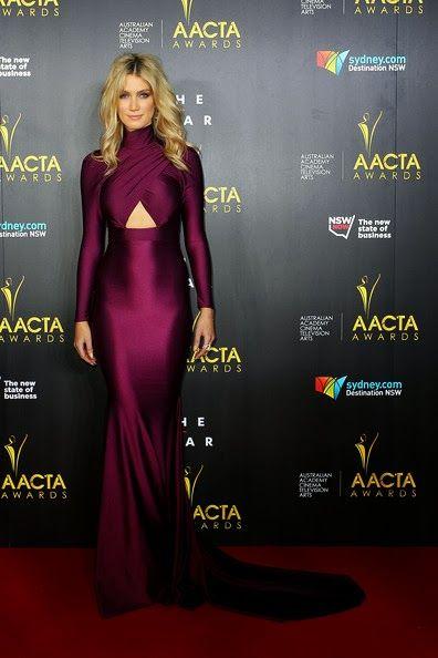 Le style et moi: Los AACTA Awards 2014 con Delta Goodrem, Grace Hua...