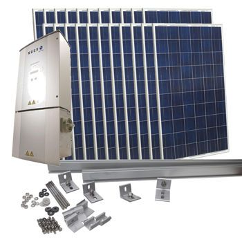 Costco: 5170 Watt Grid-Tied Solar Kit
