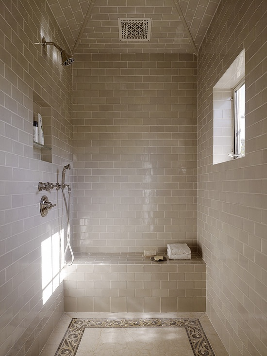 Window in shower  17 Best images about Wall Tile shower on Pinterest Attic  master. Exhaust Fan For Bathroom With No Window