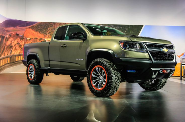 2015 Chevrolet Colorado ZR2 Concept - Provided by MotorTrend