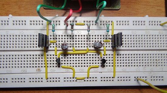 12v Dc To 220v Ac Converter Inverter Circuit Design