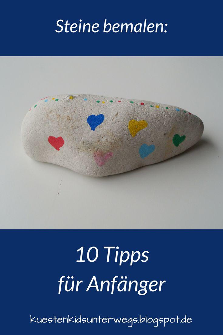 DIY: Steine mit Stiften bemalen – Tipps für Anfänger