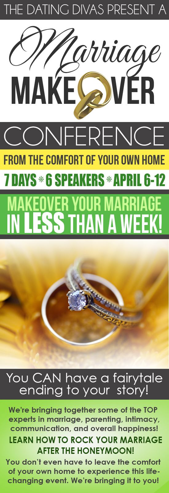 A 7-Day Marriage Makeover Conference from the comfort of your own home!