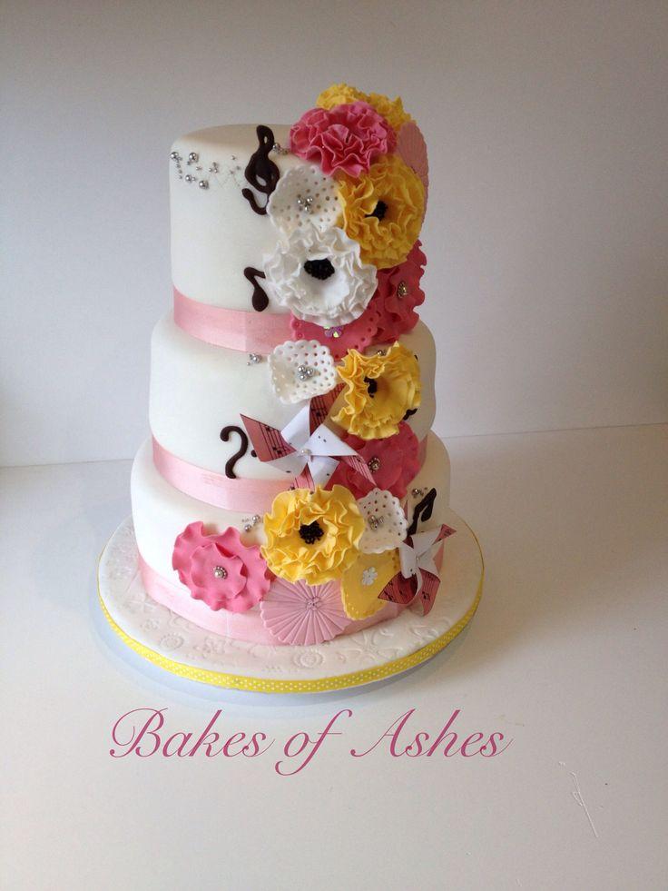 Birthday cake for a cake diva