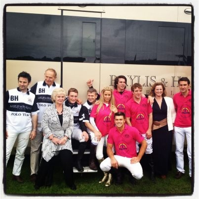 Woohoo our polo team won yesterday!!! Our founder, Marcia along with Tania were there and had a lovely day at The Inspire Polo Day.     They had fun with very glamorous and gorgeous opponents for an amazing cause!     Well done team Baylis & Harding!
