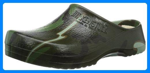 Birkenstock Professional SUPER BIRKI, Unisex-Erwachsene Clogs, Mehrfarbig (GREEN CAMOUFLAGE), 38 EU - Clogs für frauen (*Partner-Link)
