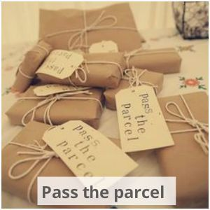 This childhood game of pass the parcel is a fun and quirky hen party game. It works every time!