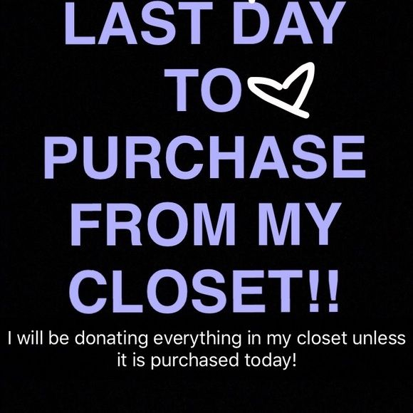 MAKE AN OFFER NOW I you are interested in ANYTHING in my closet, make an offer today because it will be gone tomorrow! I will be accepting most offers so just make an offer and see what happens!! Urban Outfitters Other