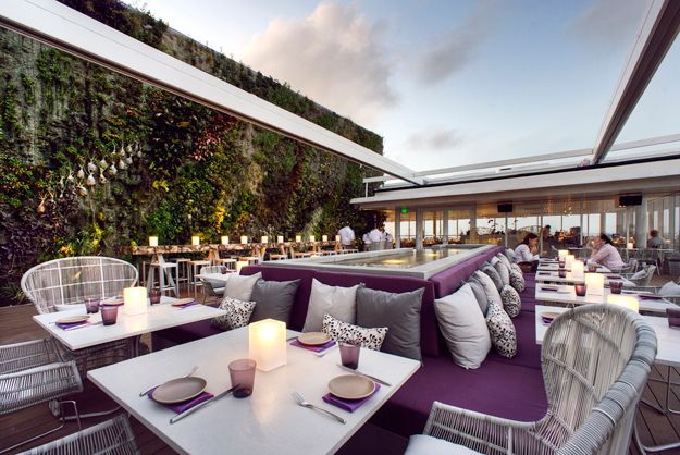 In Classic Style takes a look at Juvia, a restaurant situated at the top of 1111 Lincoln Road - a luxury parking garage.