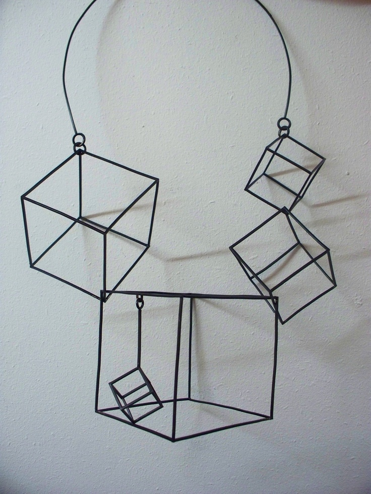 Architectural Statement Necklace by Robyn Lees-Pinson