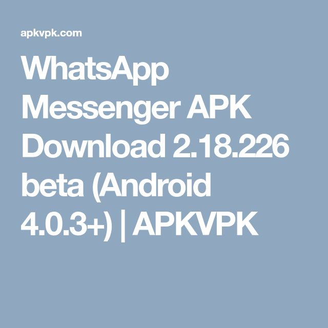 messenger apk android 4 4 2