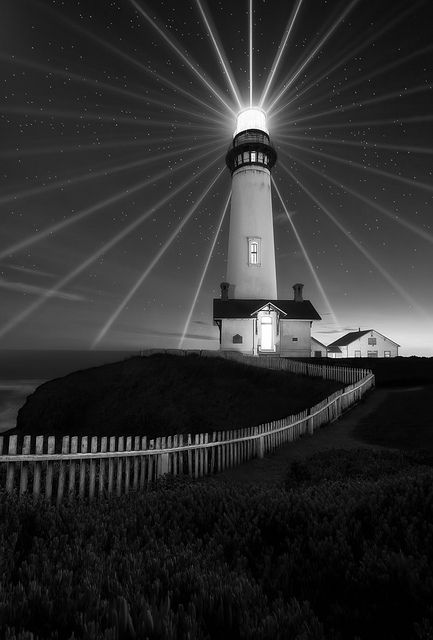 Pigeon Point Lighthouse, Half Moon Bay, CA by JaveFoto