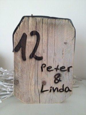 gebrandschilderd steigerhout naambord