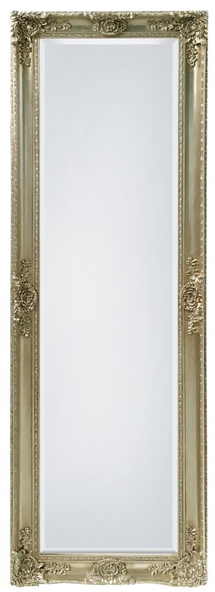 The Mayfair Belle Mirror is a beautiful and elegant solid wood floor mirror with swept molding. The Mayfair Leaner features detailed deep molding and a beveled glass edge. This mirror is perfect as a