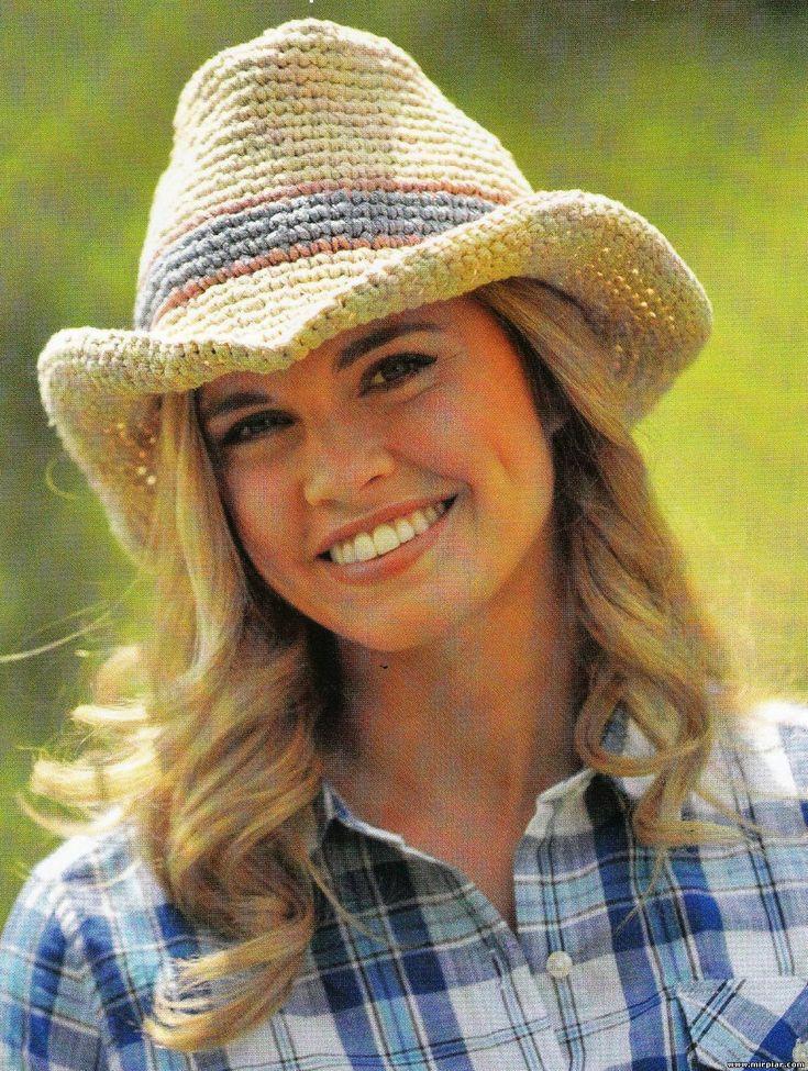 Вязаная ковбойская шляпа 1