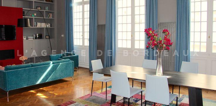 Bordeaux centre, au coeur du quartier Saint Seurin, superbe appartement bourgeois de 185 m2 avec jardin situé dans un très bel hotel particulier.