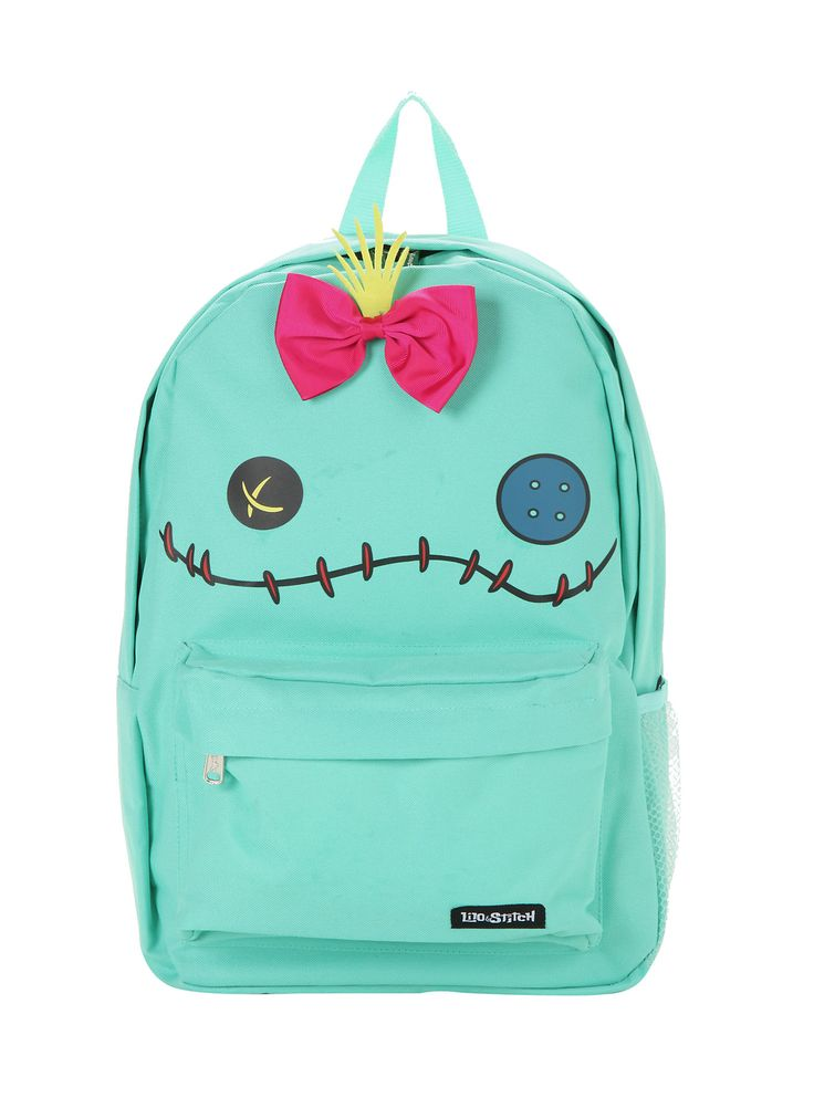 Loungefly Disney Lilo & Stitch Scrump Character Backpack,