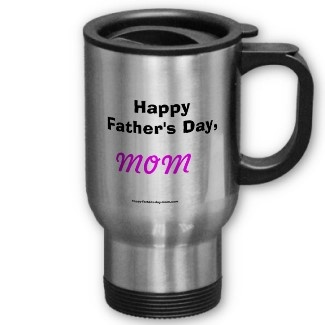 Welcome to Happy Father's Day, Mom™, the only online site that has quality gifts designed solely to recognize single mothers, the fantastic women who wear two hats and make a difference in our lives.        Let's face it, Father's Day is separate from Mother's Day, but what do you get the lady who is also your father? Happy Father's Day, Mom™. Why fake it, embrace it and recognize the woman who has filled all of the roles in the family.