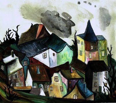 Mysterious Village - Kate Morgan - Artist & Illustrator