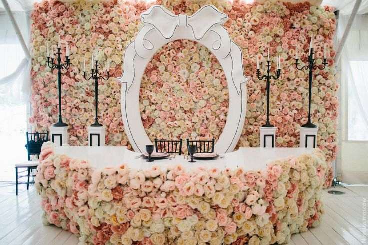 Holy Moly! Floral backdrop