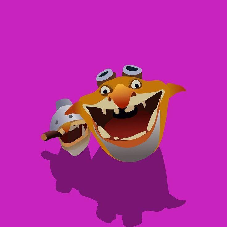 Squee Spleen and Spoon the Techies. #techies #dota2 #minimalistic #flatdesign #coreldraw #logo #game #hero #moba #onlinegames #design #graphicdesign #vectorart #vector #art #digitalart #indonesia #dota #creative