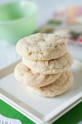 Chewy Lime Sugar Cookies with Coconut | My Baking Addiction
