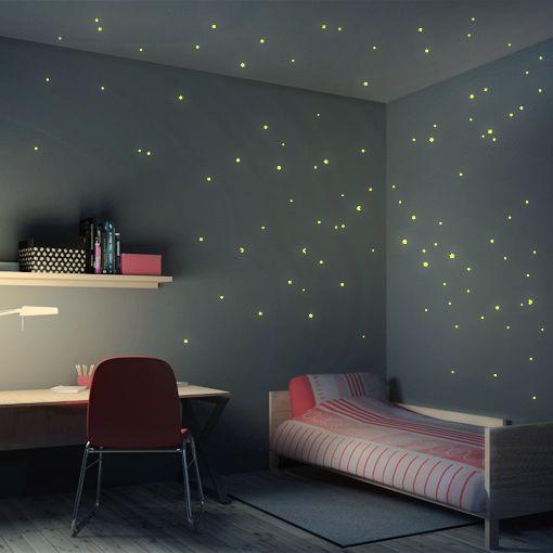 Simple Wandtattoo Sternenhimmel er Set