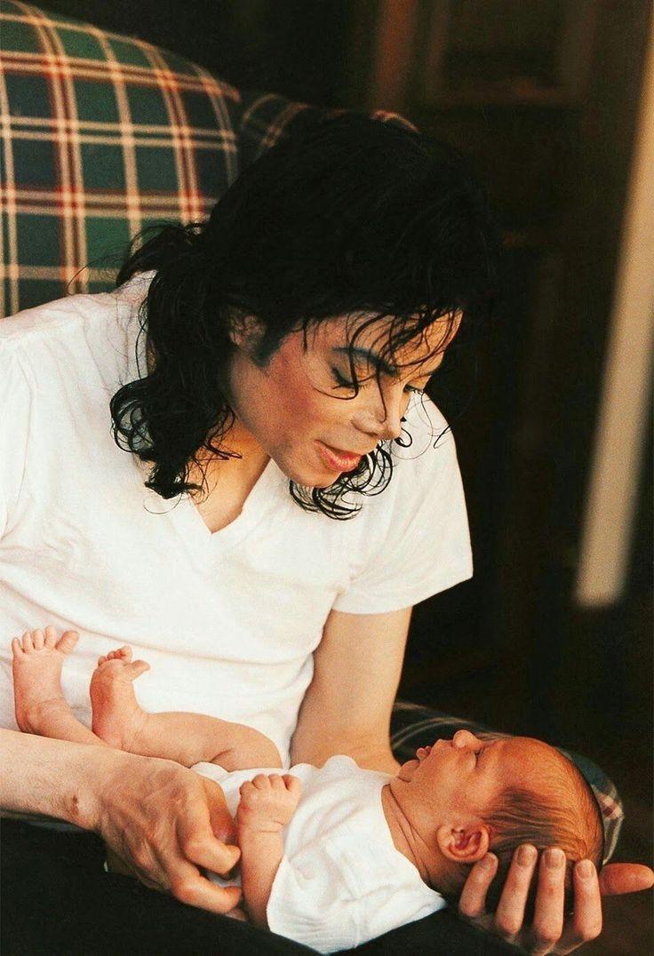 Michael Jackson father daddy kids children son Prince