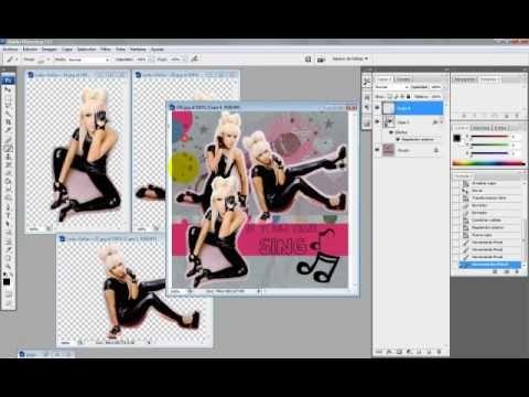 Recorte con bordes en Photoshop