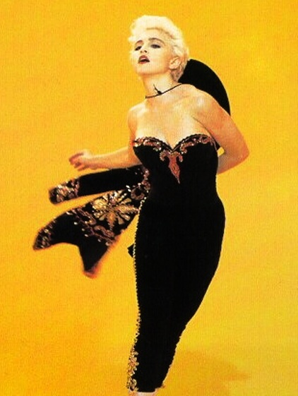 Madonna, 80's. I love flamenco style / check out my Toledo collection- smooth & lightweight leather jewellery detailed in gold. http://rositabonita.com/collections/toledo
