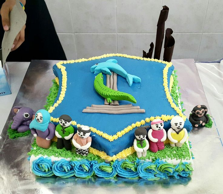 Cake decoration. 6 religious in indonesia.