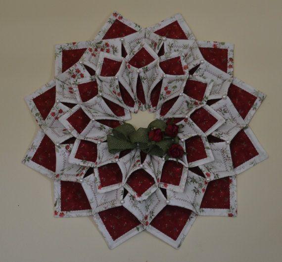 Fold'n stitch wreath by CountryInspireCreate