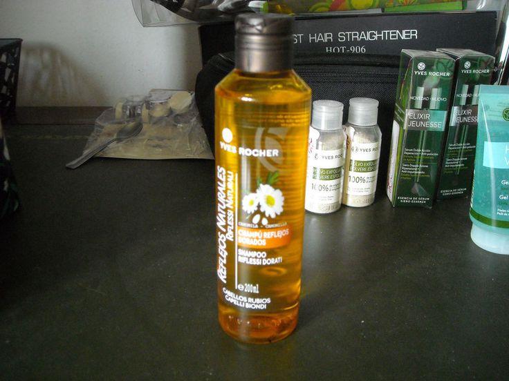 Yves rocher shampoo riflessi castani e riflessi dorati