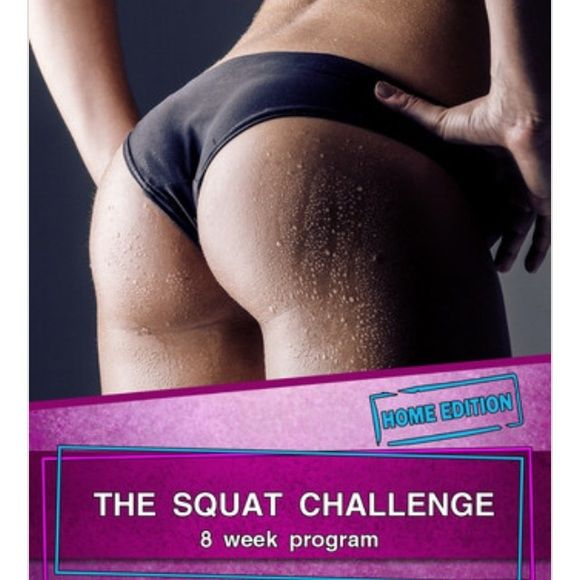 Squat Challenge 8 week HOME edition *COMMENT BEFORE PURCHASING* The squat challenge 8 week home edition! Very popular at home workout routine, it's an EBOOK - so once purchased it will be emailed to you! I am selling at the discounted rate - unfortunately posh still charges shipping so  PP is best for $5 - 15 copies available! *** Other