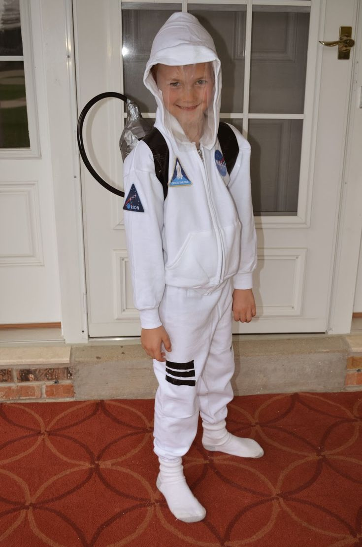 no sew astronaut costume diy