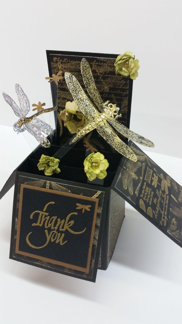 Dragonfly Box by Susan of Art Attic Studio