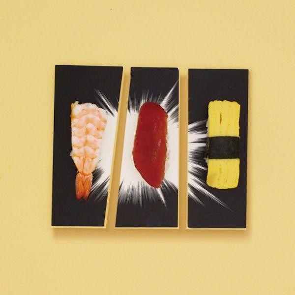 Japanese Comics-Inspired Plates