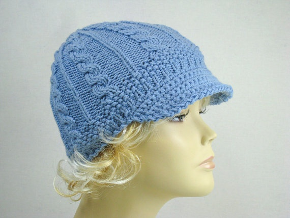 Hand Knit Hat Womens Spring Accessories Spring by easycrochet, $40.00