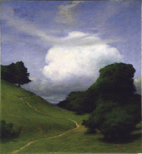 Molnet (2), The Cloud , 1896  Prince Eugen  Swedish, 1865-1947  Oil on canvas, 119 x 109 cm  Prins Eugens Waldemarsudde, Stockholm.