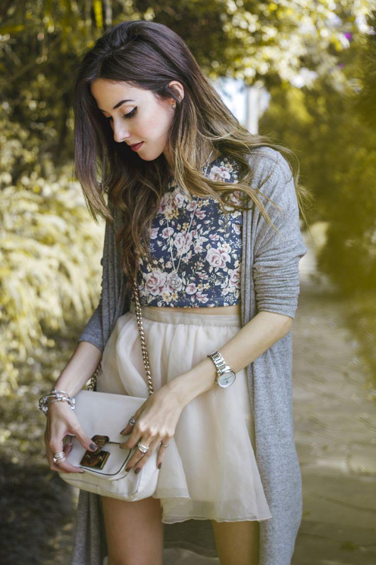look romântico e delicado inspirado nas jóias da Pandora                                                                                                                                                                                 Mais