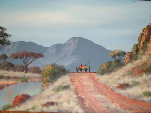 South African painter