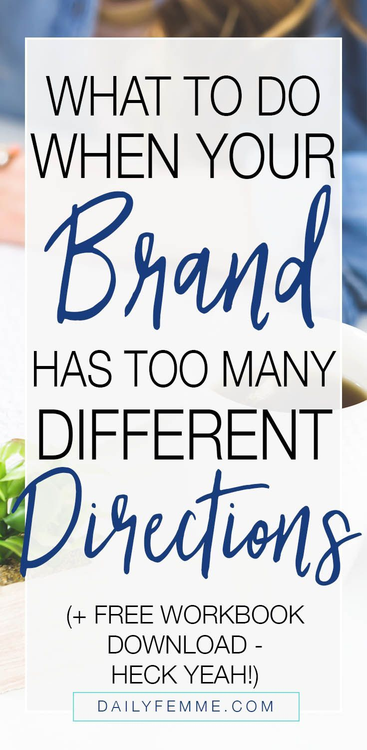 When you're stuck wondering what direction you want to take your business in, or perhaps you feel like you have too many directions to choose from, brand CLARITY is what helps you make that decision. We often overlook the importance of having a defined idea of what our brand is and what it is that fits within our brand. This mini workbook is designed to help you achieve this brand CLARITY. Click through to download.