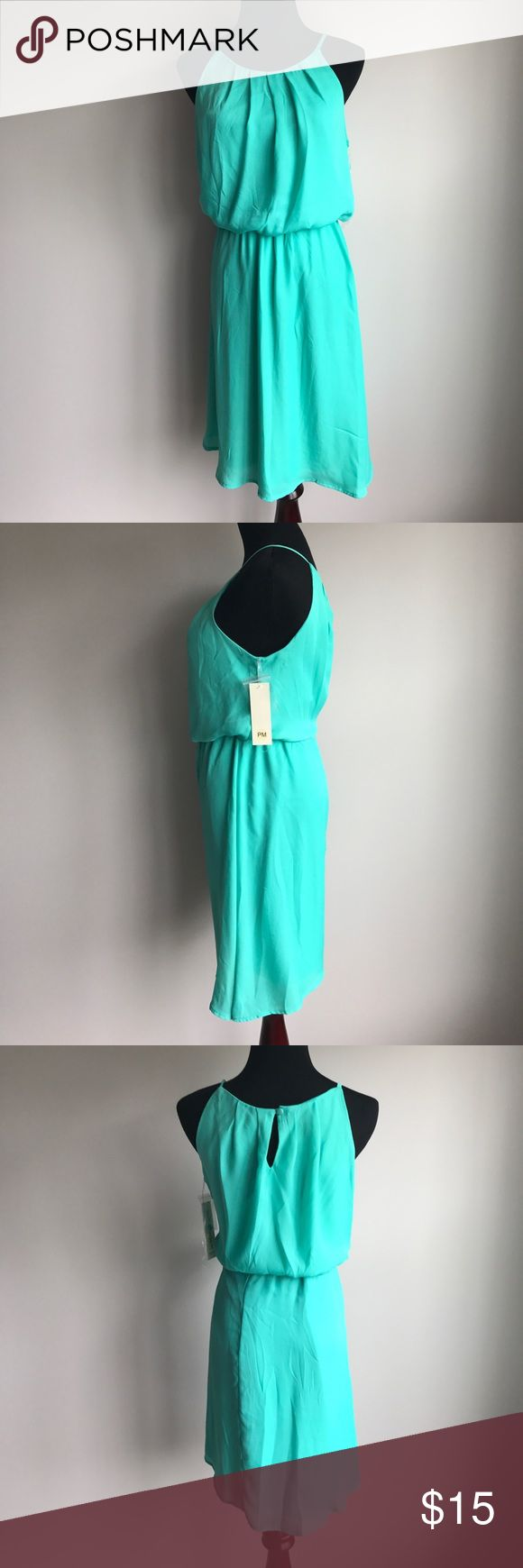 """Tacera Seafoam Green Dress Tacera Seafoam Green Dress                                                              - NWT                                                                                            - Petite Medium - I'm 5'7"""" and the petite hit me about an inch or two above the knee, the regular was way too long.                                                                                                        - Fully lined Tacera Dresses Midi"""