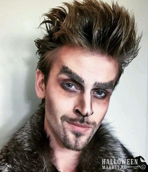 #werwolf #makeup #costume #halloweenmarket #halloween  #костюм #оборотень #образ Костюм оборотня на хэллоуин (фото)